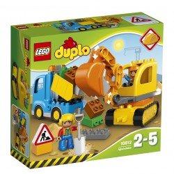 Lego® DUPLO® Town Sunkvežimis ir vikšrinis ekskavatorius