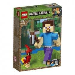 Lego® Minecraft™ BigFig Styvas su papūga