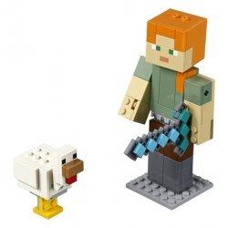 Lego® Minecraft™ BigFig Aleks su viščiuku