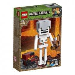 Lego® Minecraft™ BigFig Skeletas su lavos kubu