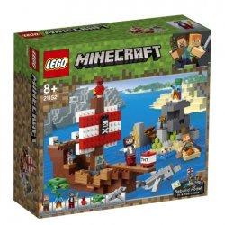 Lego® Minecraft™ Piratų laivo nuotykiai