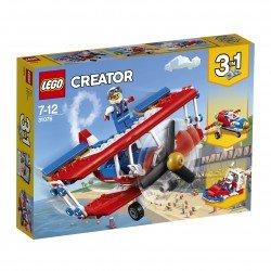 Lego® LEGO Creator Nutrūktgalvių kaskadinių triukų lėktuvas