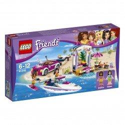 Lego Friends Andrėjos priekaba greitaeigiui kateriui