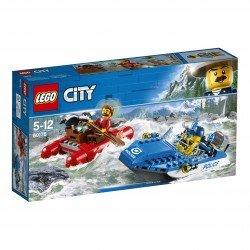 Lego® City Police Pabėgimas kalnų upe