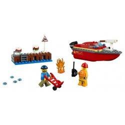 Lego® City Fire Gaisras prieplaukoje