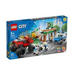 Lego® City Policijos sunkvežimio monstro apiplėšimas
