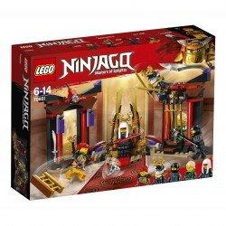Lego® Ninjago Susirėmimas sosto menėje