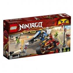Lego® NINJAGO® Kai kardų dviratis ir Zane sniegomobilis