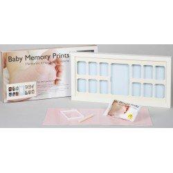Baby MEMORY PRINT antspaudas ir kalendorius baltas BMP.060