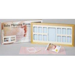 Baby MEMORY PRINT antspaudas ir kalendorius medžio BMP.062
