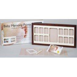 Baby MEMORY PRINT antspaudas ir kalendorius rudas BMP.061