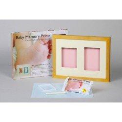 Baby MEMORY PRINT rėmelis sieninis ir antspaudas medžio sp. BMP.012
