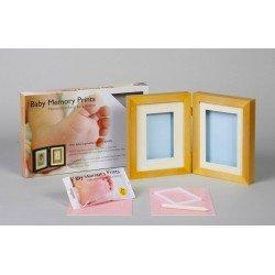 Baby MEMORY PRINT rėmelis stalo ir antspaudas medžio BMP.022