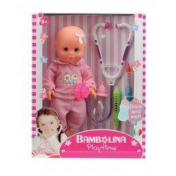 Lėlė-kūdikis 30cm su gydytojo rinkiniu