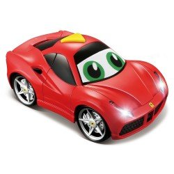 Bb JUNIOR automobilis Ferrari Light & Sound 16-81002