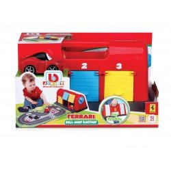 Bb JUNIOR automobilis Ferrari Roll-Away Raceway 16-88806