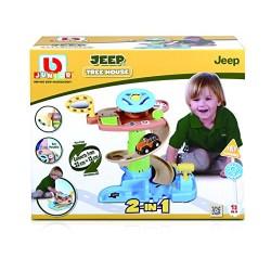 Bb JUNIOR trasos rinkinys su automobiliu Jeep Tree House 16-88603