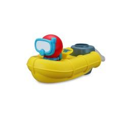 Bb JUNIOR vonios žaislas Splash 'N Play Rescue Raft 16-89014