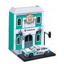1:43 policijos nuovada su Lietuvos Policijos automobiliu City 18-31502