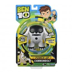 Ben10 figūrėlė Power Up Cannonbolt