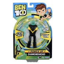 Ben10 figūrėlė Power up Diamondhead