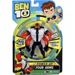 Ben10 figūrėlė Power up Four Arms