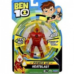 Ben10 figūrėlė Power up Heatblast