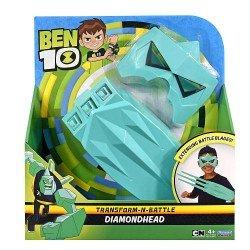 Ben10 ginklas ir kaukė Diamond