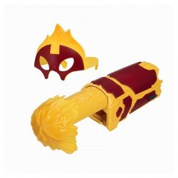 Ben10 ginklas ir kaukė Heatblast