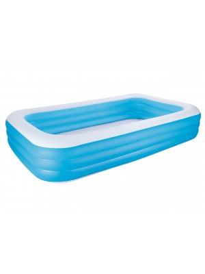 Bestway baseinas šeimos Deluxe mėlynas 305x183x56cm 54009B