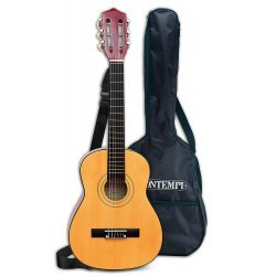 Klasikinė medinė gitara su įdėklų cm