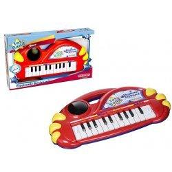 Pianinas elektroninis klavišų su šviečiančiu burbulu