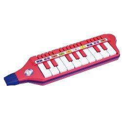 Pučiamoji melodika klavišų
