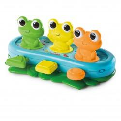 Bright STARTS muzikinis žaislas Bop and Giggle Frogs 10791-6