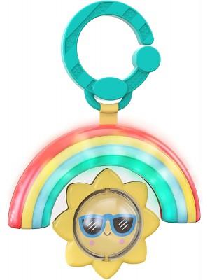 Bright STARTS pakabinamas žaislas Rainbow Shake & Glow