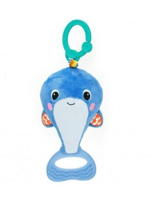 Bright STARTS pakabinamas žaislas Whaleroo Pull & Shake