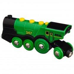 Brio didelis garvežys žalias