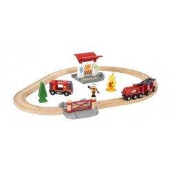 Brio RAILWAY gaisrininkų rinkinys