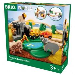 Brio RAILWAY Safari nuotykių rinkinys