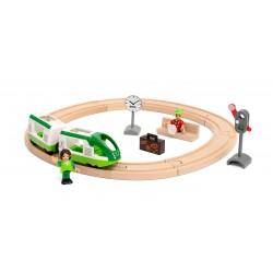 Brio traukinio rinkinys su bėgiais
