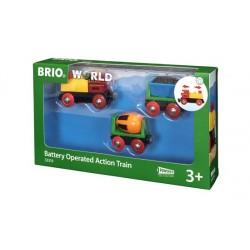 Brio traukinys Action