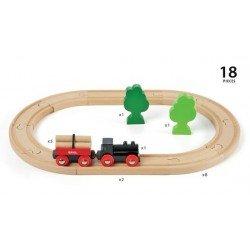 Brio traukinys mažas