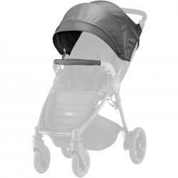 Britax stogelis vežimėliui B-AgileB-Motion Black Denim