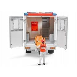 Greitosios pagalbos automobilis su figūrėle