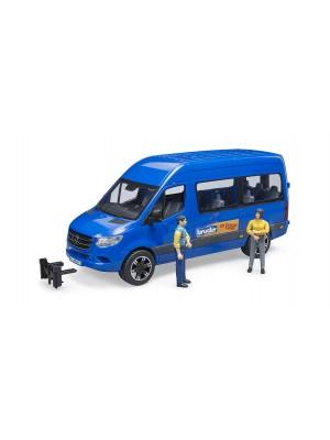 Mb Sprinter Transfer su vairuotoju ir keleiviu