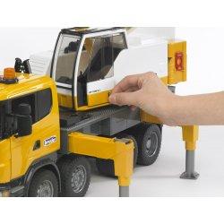 Sunkvežimis kranas scania geltonas