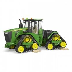 Traktorius su vikšrais John Deere