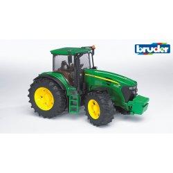 Traktorius tamsiai žalias John Deere