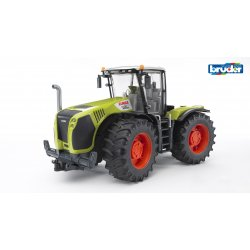 Traktorius žalias claas xerion