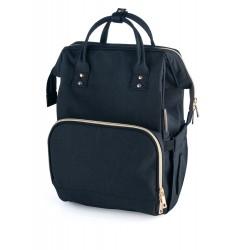 Babies mamos krepšys tvirtinimas prie vežimėlio juodas